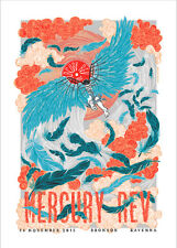 MERCURY REV CONCERT POSTER LIMITED EDITION SCREEN PRINT 2015