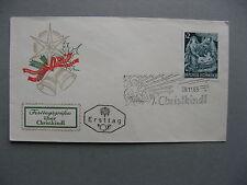 AUSTRIA, cover FDC Christkindl 29-11-1963 (8, )imprinted spec. label