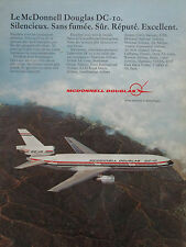 5/1973 PUB MCDONNELL DOUGLAS DC-10 AIRLINER AIRLINES AIR ZAIRE VARIG FRENCH AD
