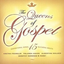 YOLANDA ADAMS, ARETHA FRANKLIN + ~ THE QUEENS OF GOSPEL ~ CD 2003 FUEL
