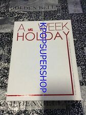 Dong Bang Shin Ki Photobook A Week Holiday Camping DVD Tohoshinki TVXQ Rare OOP