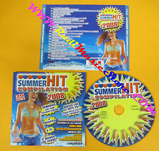 CD Compilation SUMMER HIT 2008 Jovanotti Zucchero Nannini Vasco no lp mc(C41)