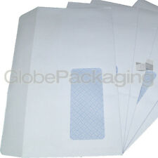 200 x DL WINDOW WHITE SELF SEAL ENVELOPES 120x210mm