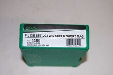 RCBS .223 Win Super Short Mag Reloading FL Die Set 10501 FREE PRIORITY SHIPPING