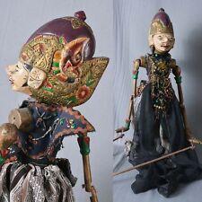 1 Holz Puppe Wayang Golek Marionette Original rod puppet GO31