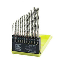 13 PCS DRILL BITS SET  ELECTRIC SUITABLE FOR WOOD, MALLEABLE IRON, ALUMINUM, PLA