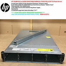 HP DL180 G6 2x L5630 4-Core 32GB P410/256MB 2x750W PSU 12LFF Rail Kit iL02