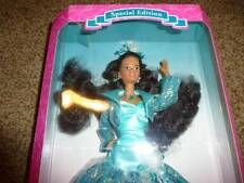 Barbie Doll Emerald Elegance Black Hair 12323 Gown Fashion Special Edition NIP