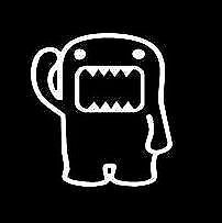 DOMO KUN Car Decal, Vinyl, Drift Sticker, Funny, JDM Subaru  VAG JDM EURO DUB