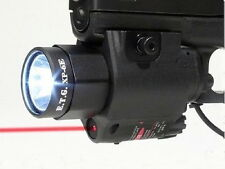 ETG Tactical FlashLight & Laser Sight Combo XP6-E 200 LUMEN Glock XD Ruger