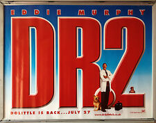 Cinema Poster: DR DOLITTLE 2 2001 (Adv Quad) Eddie Murphy Cedric the Entertainer