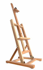 "Beech Wood Table Top Display Easel 41 "" (1030mm) Alto 3 piedi artista arte artigianale in legno"