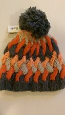 Barts womans new knit acrylic hat pom-pom beanie