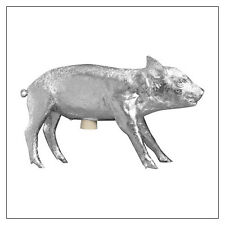 Areaware Pig Bank -- Silver, Gold, or Colored Chrome -- cast from a real pig!