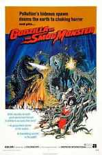 Godzilla Vs Hedorah Poster 02 A4 10x8 Photo Print