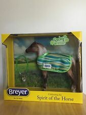 BREYER #1751 SPIRIT OF THE HORSE ROCKY BROWN LEOPARD APPALOOSA WITH BLANKET NIB