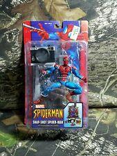 RARE NIB SEALED HTF Toybiz Marvel McFarlane Snap-Shot Spider-man Series 10 2004