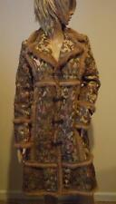 NWOT Cynthia Steffe Brocade Embroidered Fur Trim Coat Jacket Small
