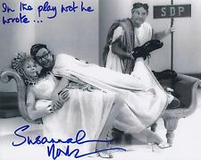 SUSANNAH YORK SIGNED 8x10 MORECAMBE & WISE PHOTO - UACC & AFTAL RD AUTOGRAPH