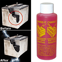 2 Charge it battery additive  replaces VX6 lee petty solder it