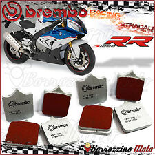 8 FRONT BRAKE PADS BREMBO SC SINTERED ROAD-RACING 07BB33SC BMW S 1000 RR 2013