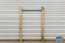 Wooden and Metal Climbing Pull Up Bars climbing frame kids, outdoor fun, monkey