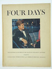 Four Days Historical Record Of The Death Of President Kennedy - Hardcover 1964