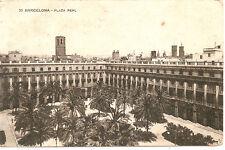 Barcelona : postal Años 20 PLAZA REAL