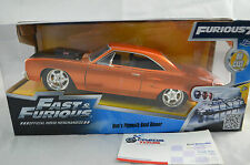 1:24 Fast & Furious Dom's Plymouth Road Runner Furious7 Diecast Model