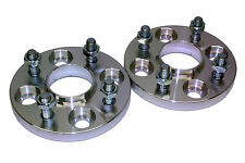 15mm 4x108 63.4 CB HUBCENTRIC WHEEL SPACER KIT FORD FIESTA MK4 MK5 MK6
