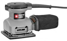 PORTER-CABLE 380 1/4 Sheet Orbital Finish Palm Sander, New, Free Shipping