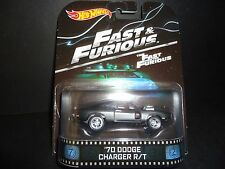 Hot Wheels Dodge Charger R/T 1970 Fast and Furious Version II 1/64