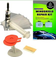 PROFESSIONAL Windshield Repair Kit DIY Auto Glass Resin Wind Screen Chips Cracks