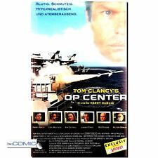 VHS Tom Clancy's OP Center -  Action Thrillerfilm mit Harry Hamlin, Kim Cattrall