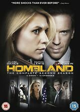 Homeland - Series 2 - Complete (DVD, 2013, 4-Disc Set, Box Set)