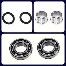 2 REAR AXLE SHAFT BEARING KITS 4 WHEEL ABS FOR CHEVROLET SUZUKI 1999-2004 VITARA