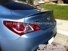 Painted Color Performance Trunk Spoiler Lip For 2010-2013 Genesis Coupe 2Dr Only