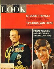 APRIL 18 1967 LOOK vintage magazine PRINCE CHARLES and his FATHER