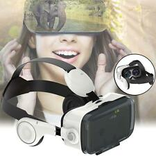 "VR Box Z4 Reality 3D Glasses Helmet For iPhone Samsung note 4 4.7""-6""  AB"