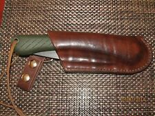 Hand Crafted Leather Right-Side Draw Sheath for Bahco Laplander Saw