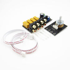 Audio Input Signal Selector Signal Switching/Relay Board Amplifier Board + RCA