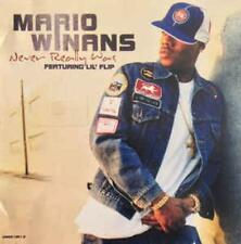 Mario Winans: Never Really Was PROMO w/ Artwork MUSIC AUDIO CD Lil' Flip Thanks