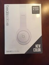 Beats by Dr. Dre Solo HD Headband Headphones Drenched Color - Matte White