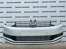VW TOURAN 2015-2016 FRONT BUMPER COMPLETE IN WHITE [V204]