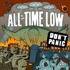Don't Panic [Digipak] by All Time Low * New CD * Hopeless Records