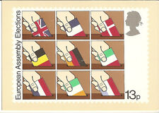 GREAT BRITAIN -  EUROPEAN ASSEMBLY -  POST CARD PHQ35(d) - 1979