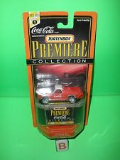 COCA-COLA COKE MATCHBOX PREMIERE CAR COLLECTION 1970 CHEVROLET EL CAMINO CHEVY B