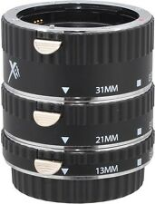 XIT Pro Series Auto Focus Macro Extension Tube Set - Canon