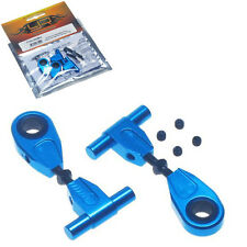 Yeah Racing TT02-003BU Aluminum Adjustable Front Upper Arm Set For Tamiya TT02