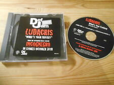 CD Hiphop Ludacris - What's Your Fantasy (3 Song) Promo DEF JAM jc